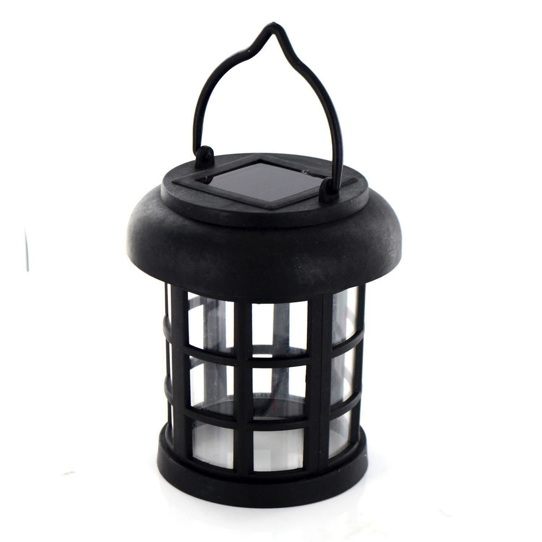Solar Powered Led Hanging Garden Lantern Rechargeable Outdoor Coach Light Lamp Ebay
