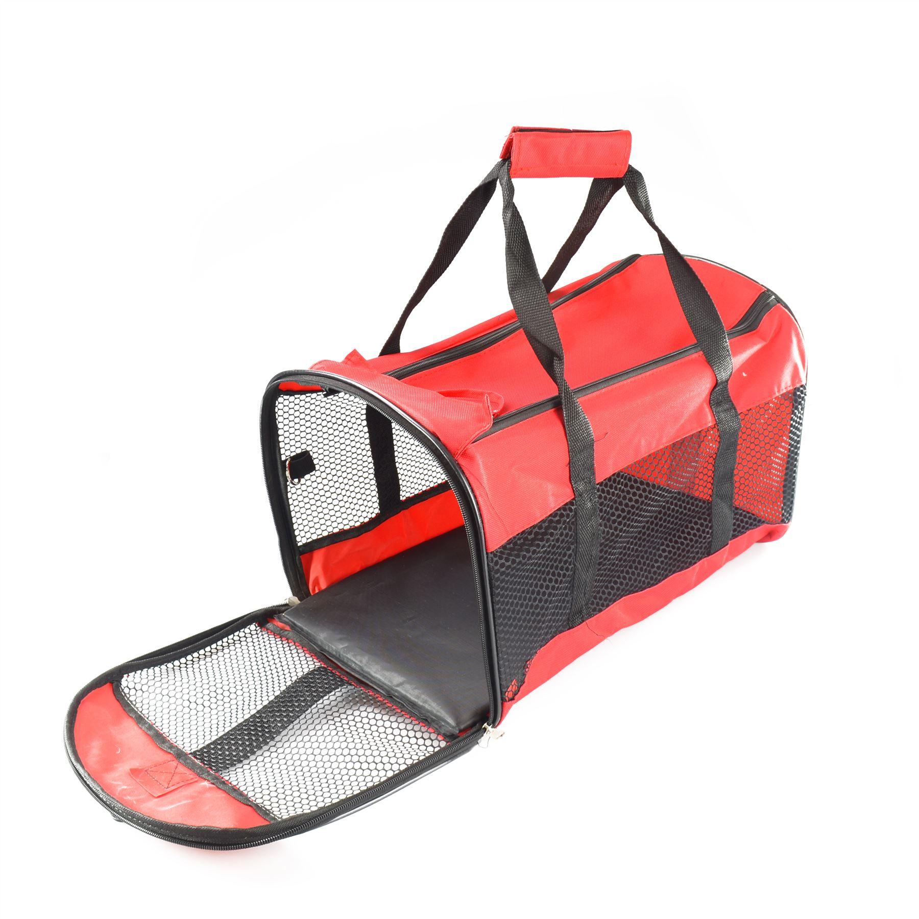 neu tragbar zusammenlegbar hund katze welpe transportbox. Black Bedroom Furniture Sets. Home Design Ideas
