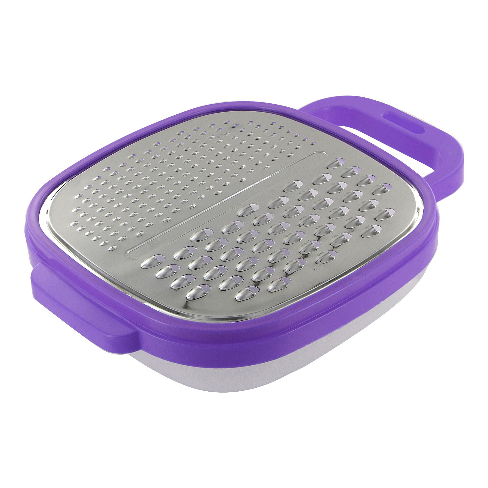 New Kitchen Cheese Grater Zester Hand Held Food Slicer Container Vegetable Fruit