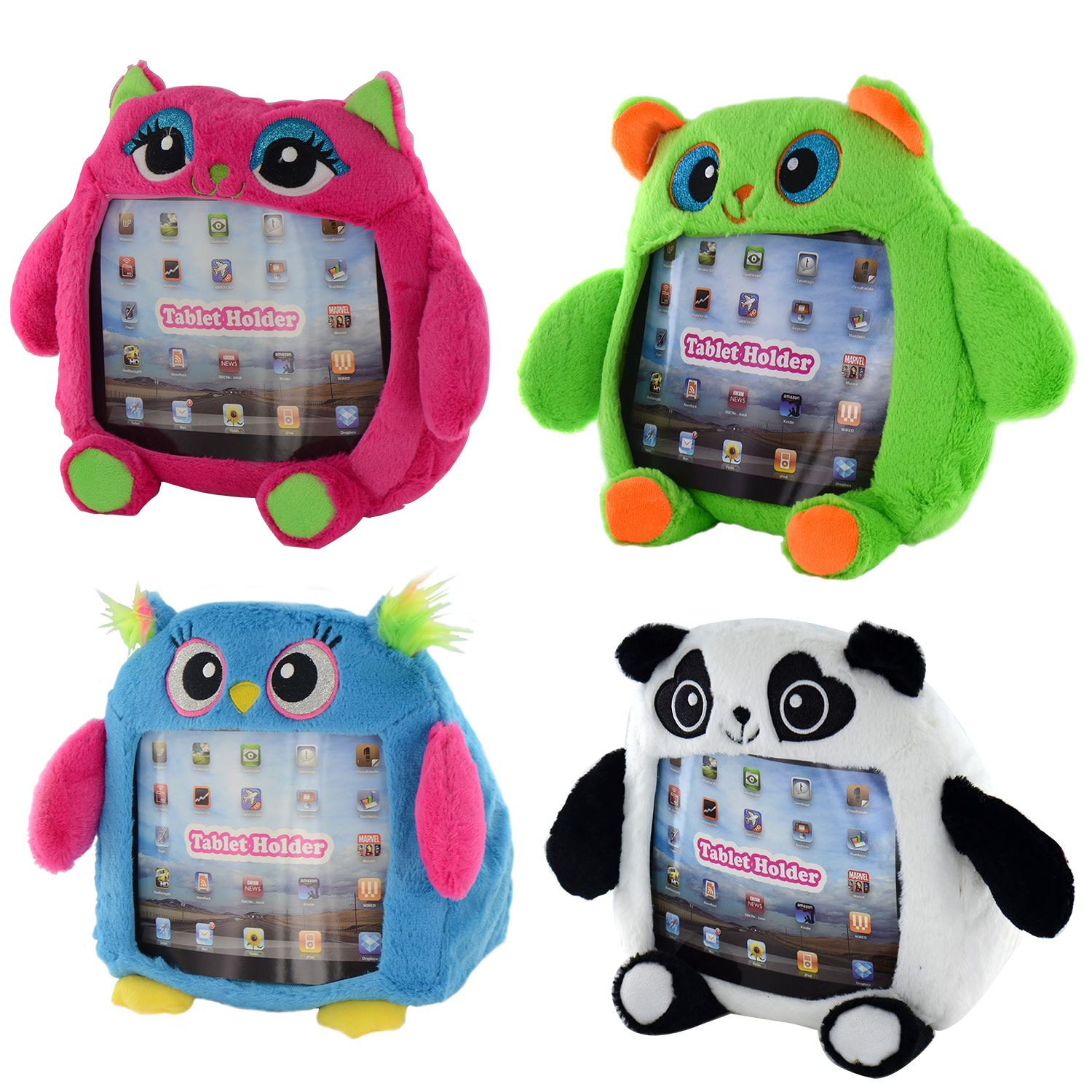 Squishy Ipad Cases : Tablet Ipad Case Kids Childrens Plush Soft Toy Animal Monster 10
