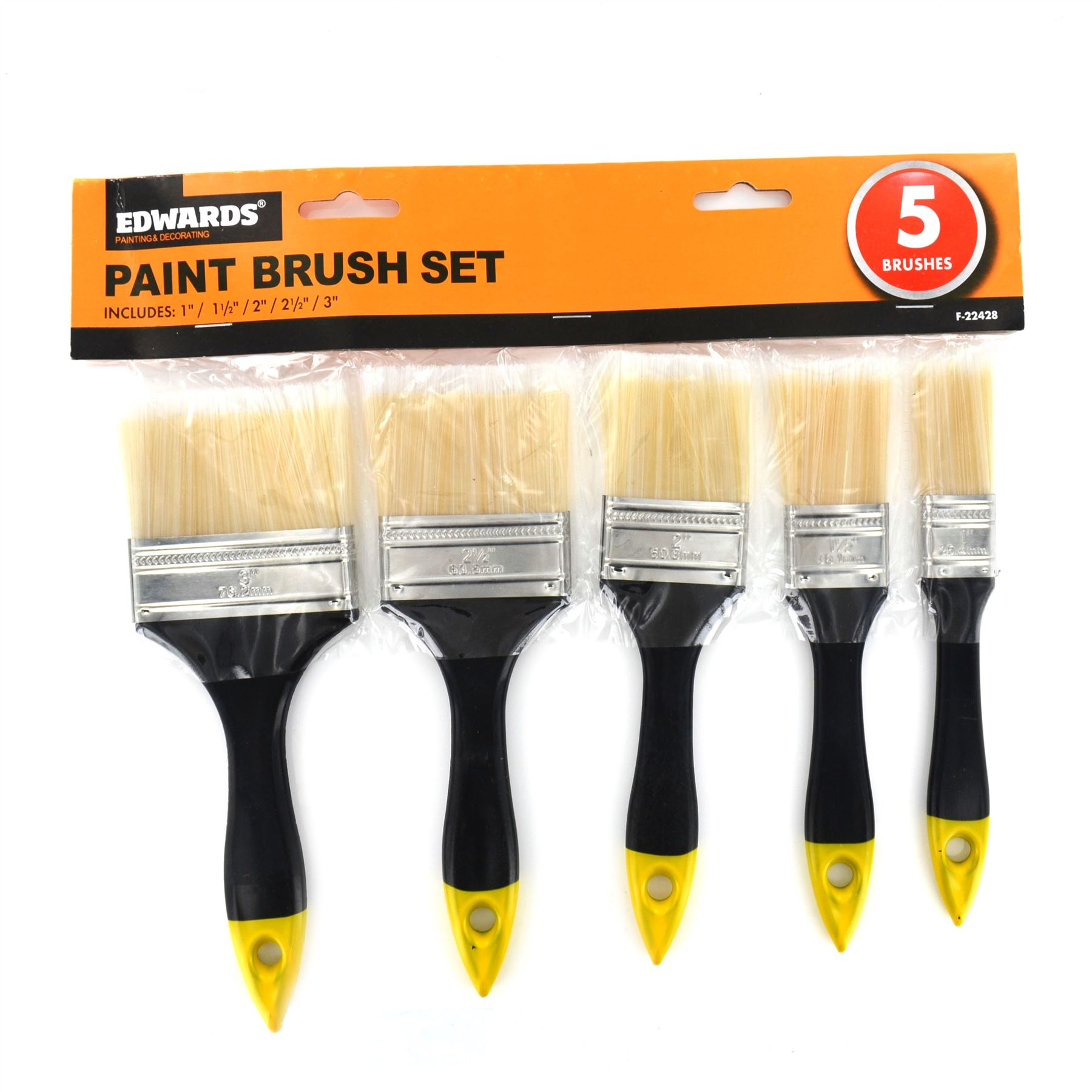 New 5 piece diy paint brush set painting home decorating Home decorating tools