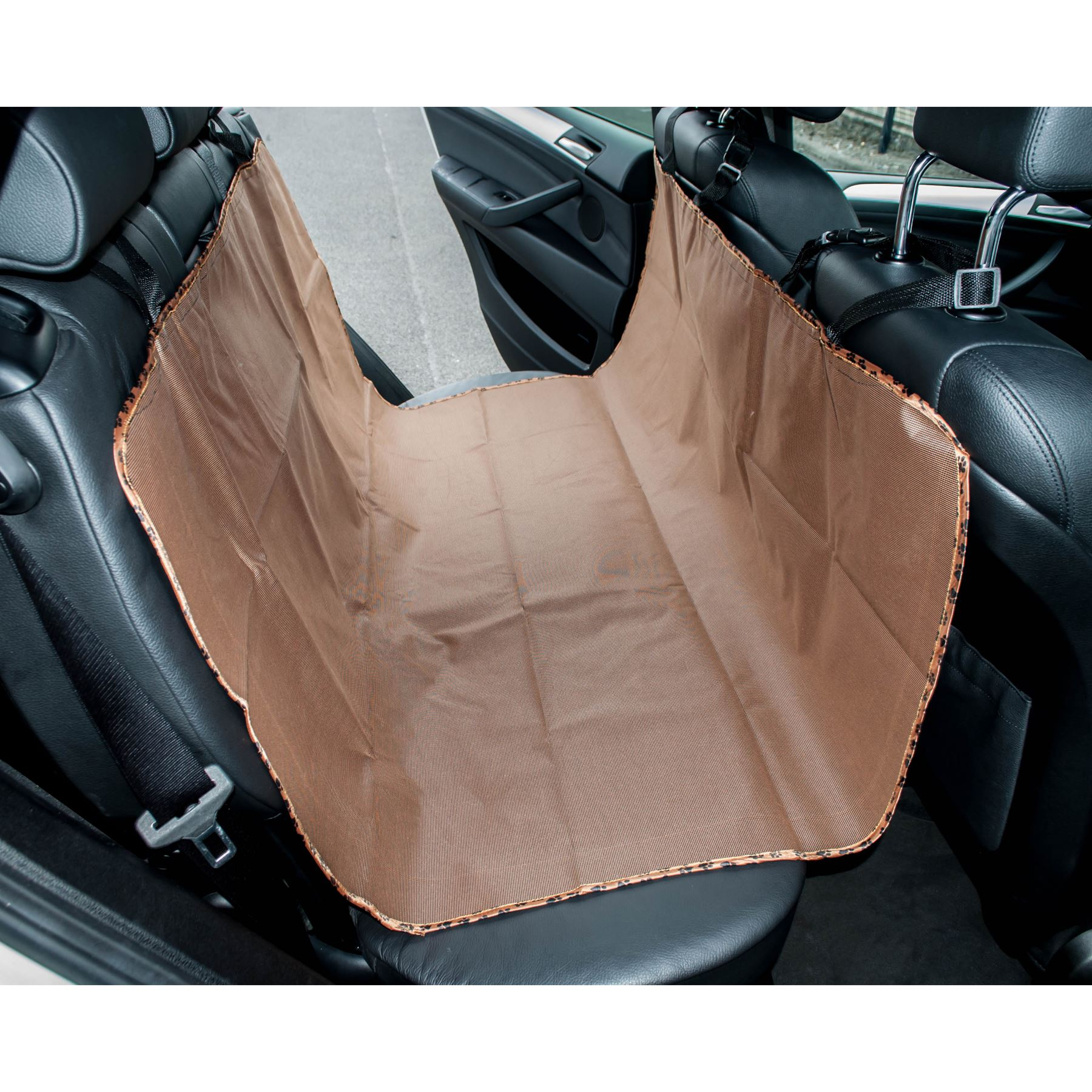 muddy pups pet seat boot car cover protection 142 x 123cm waterproof microfibre ebay. Black Bedroom Furniture Sets. Home Design Ideas
