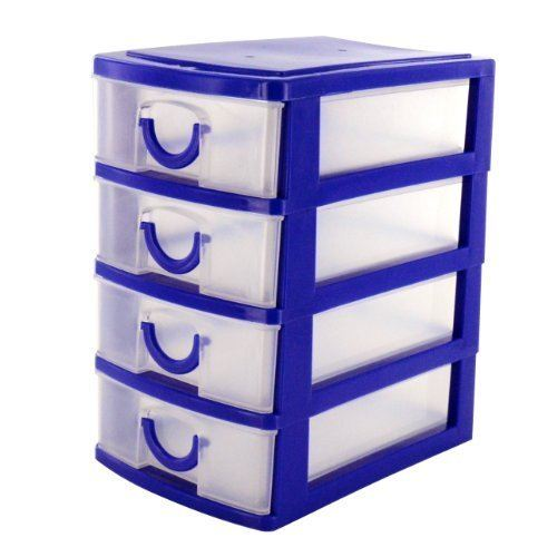 4 drawer storage plastic 1