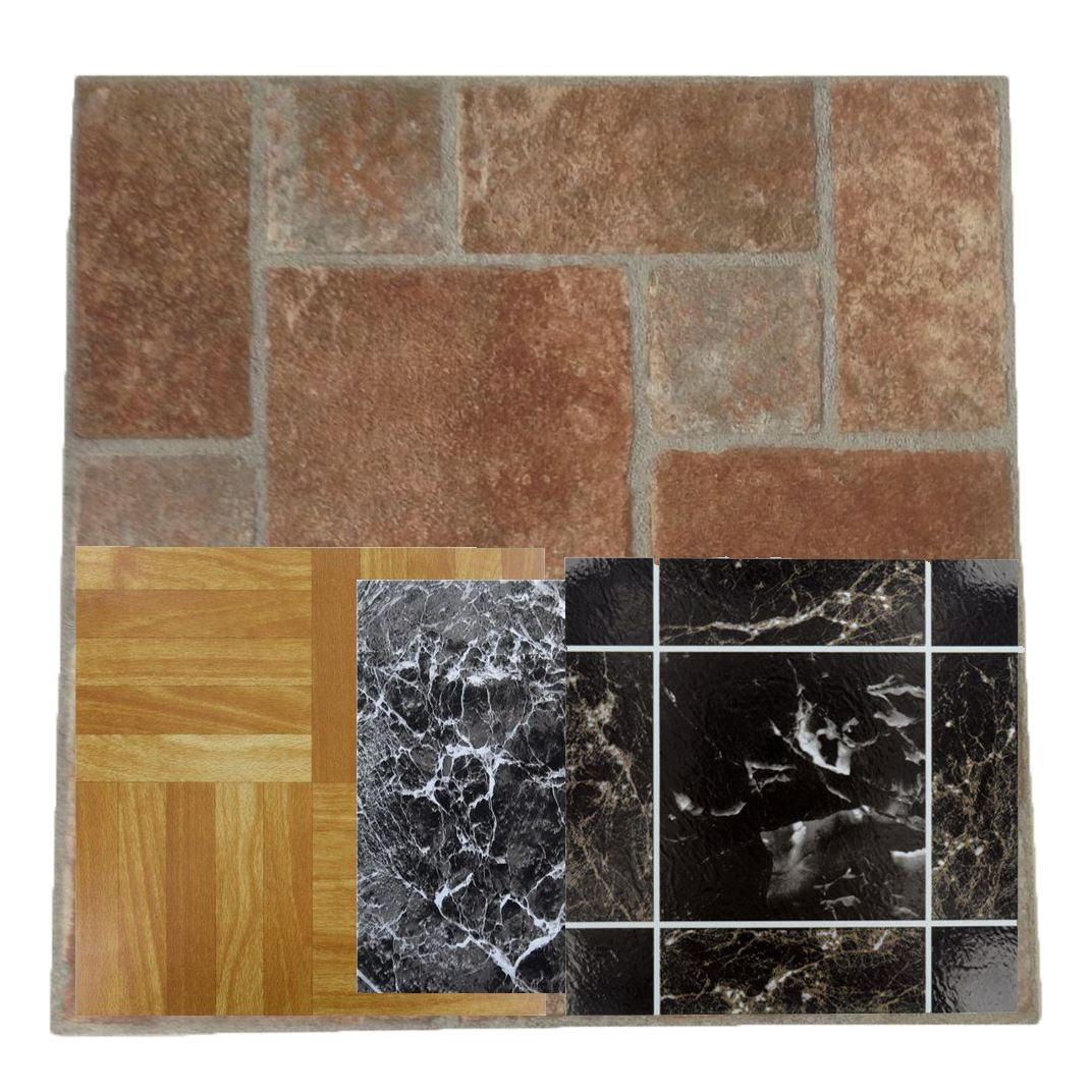 Kitchen Tiles Ebay: 4pcs Wood Vinyl Floor Tiles Self Adhesive Stick On House Bathroom Kitchen