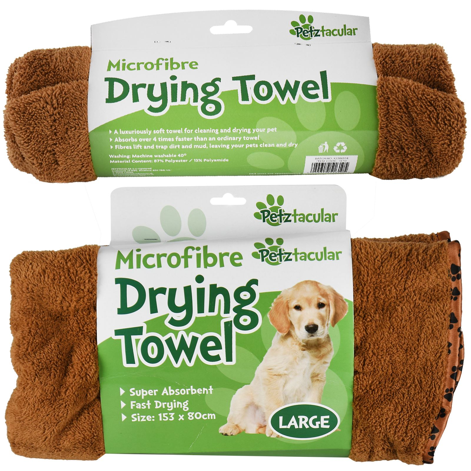 Microfibre For Cats And Dogs