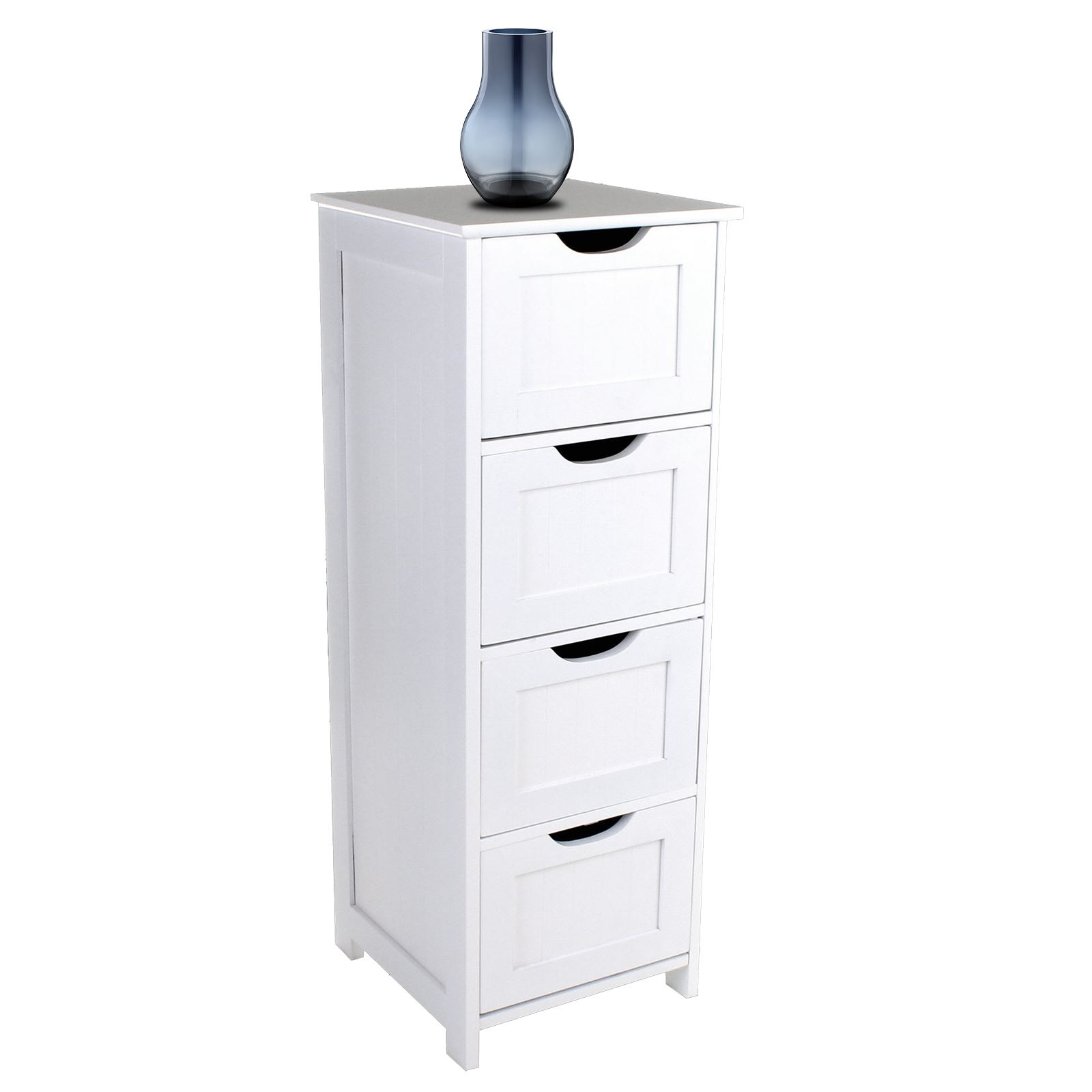 bathroom drawers unit large white furniture storage cabinet modern