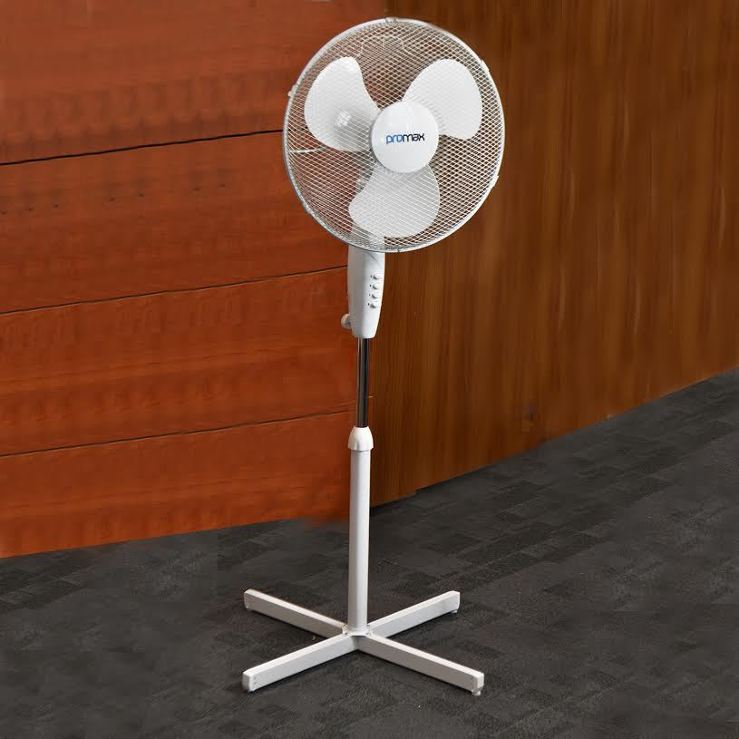 Desk floor standing pedestal oscillating stand cooling for 16 inch window box fan