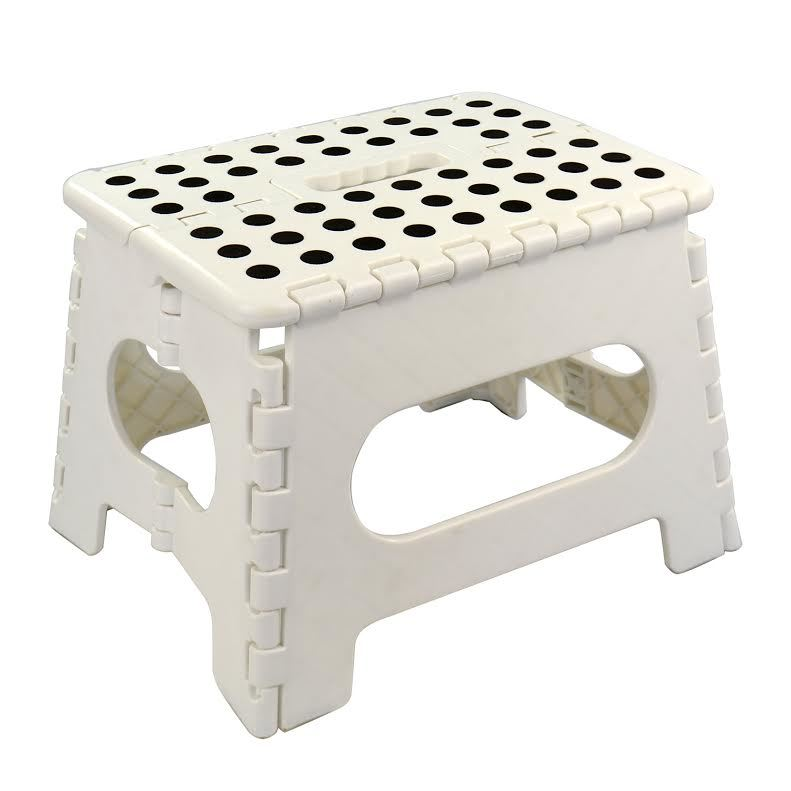 Small Multipurpose Folding Stool Camping Kitchen Toilet