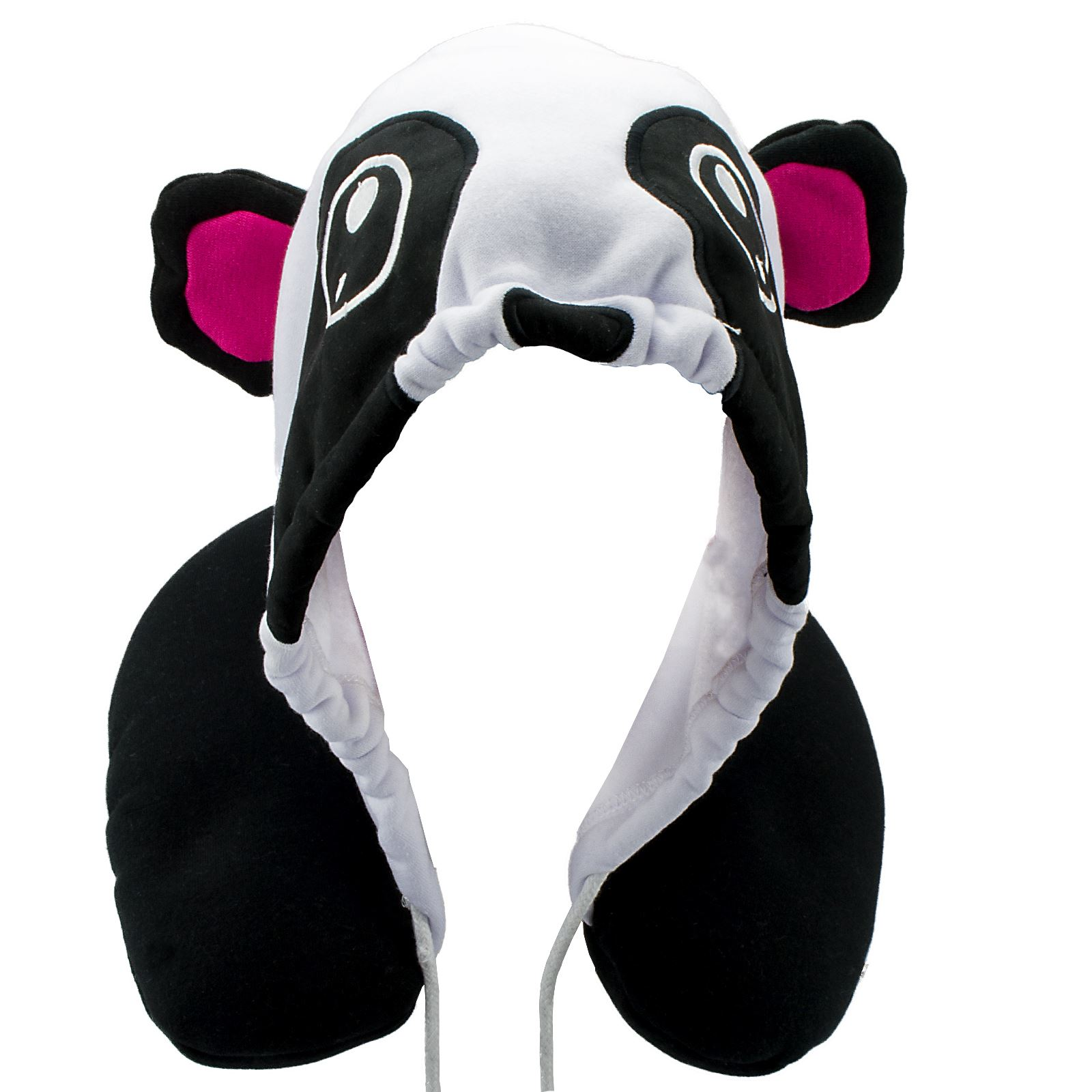 Animal Neck Pillow For Adults : New Animal Hoodie Travel Pillow Micro Bead Neck Foam Adult Car Children One Size eBay