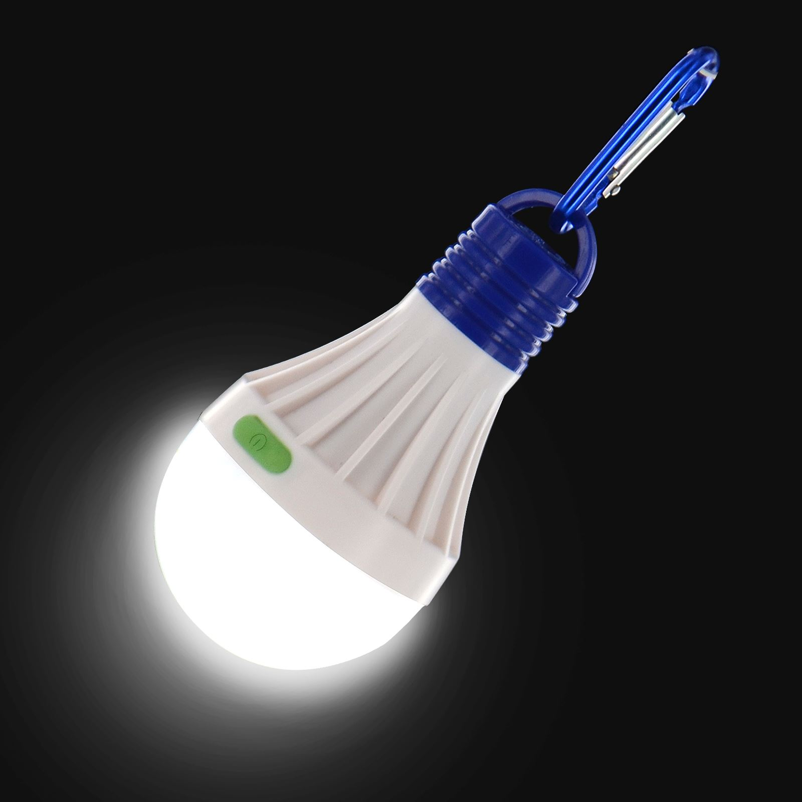portable led outdoor camping tent light bulb hanging fishing lantern lamp torch ebay. Black Bedroom Furniture Sets. Home Design Ideas