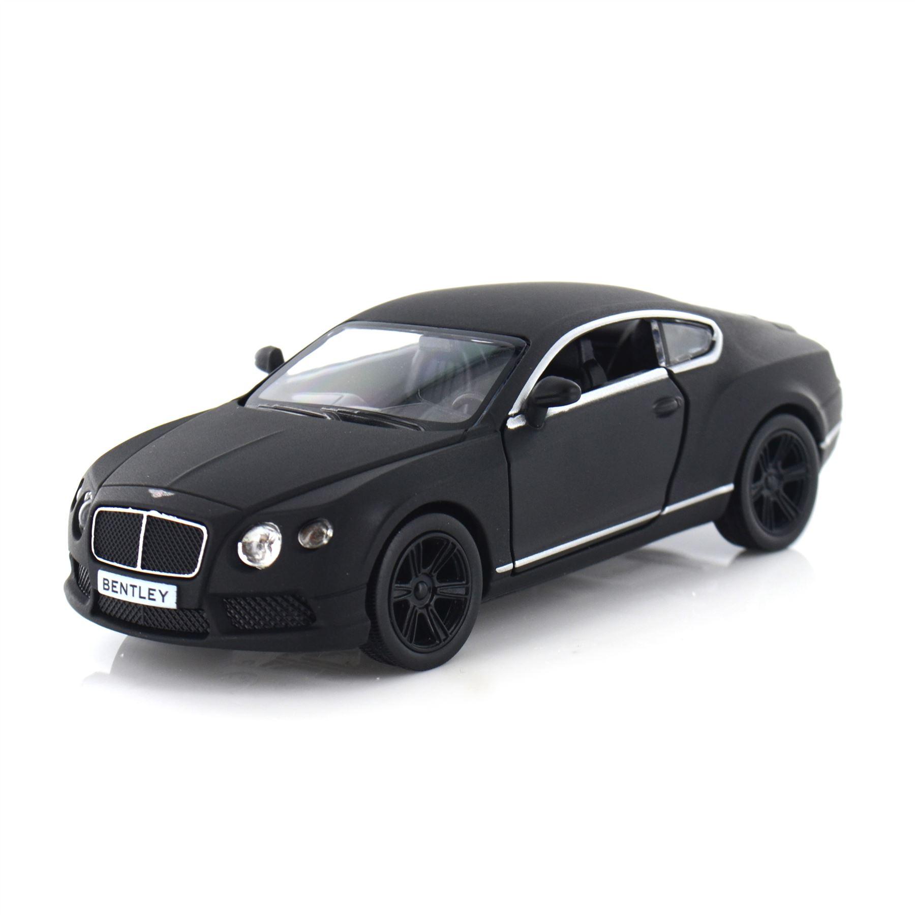 New Matt Black 1:32 Scale Model Sports Cars Dicast Toy