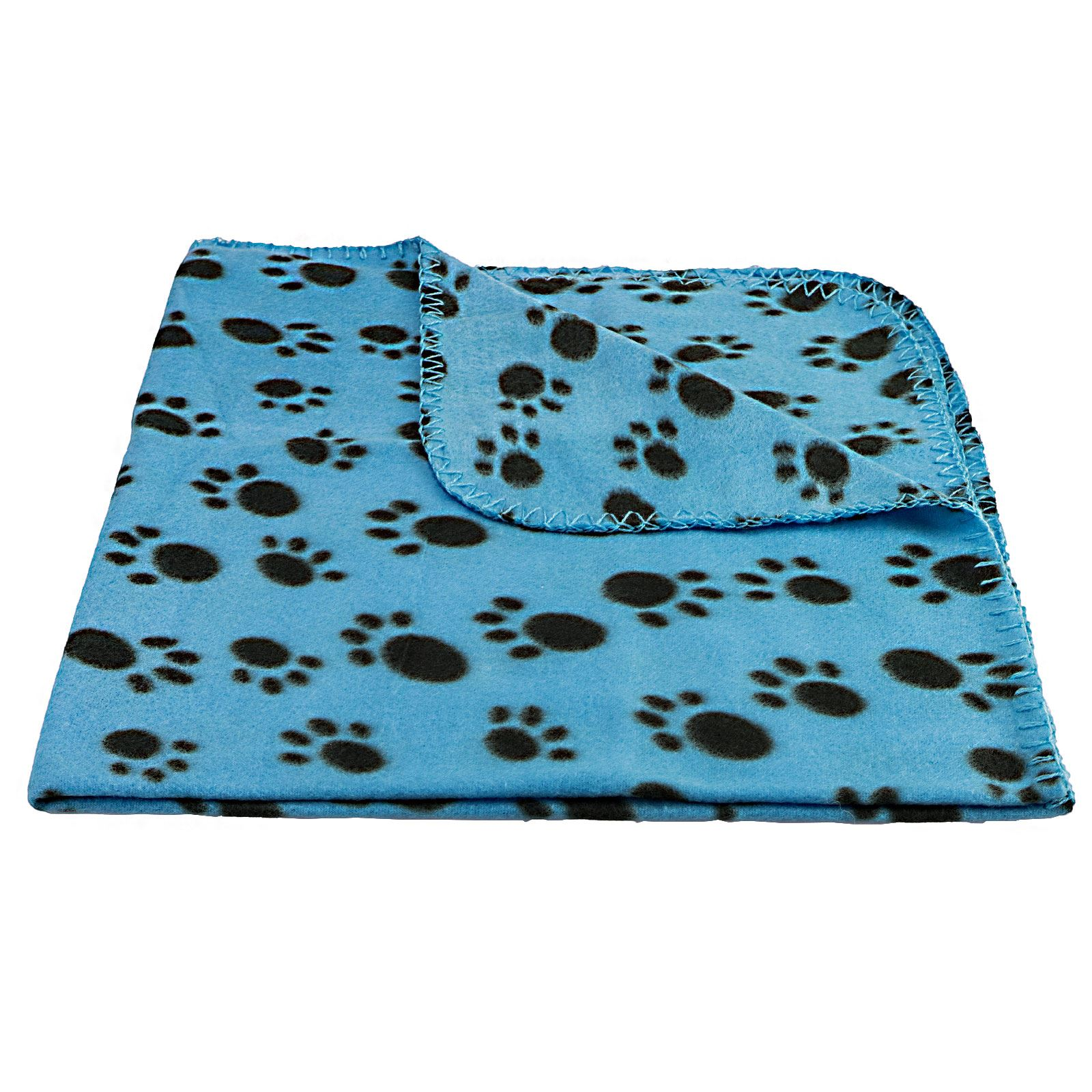 Pet Blanket Dogs Amp Puppy Cat Paw Print Soft Warm Fleece