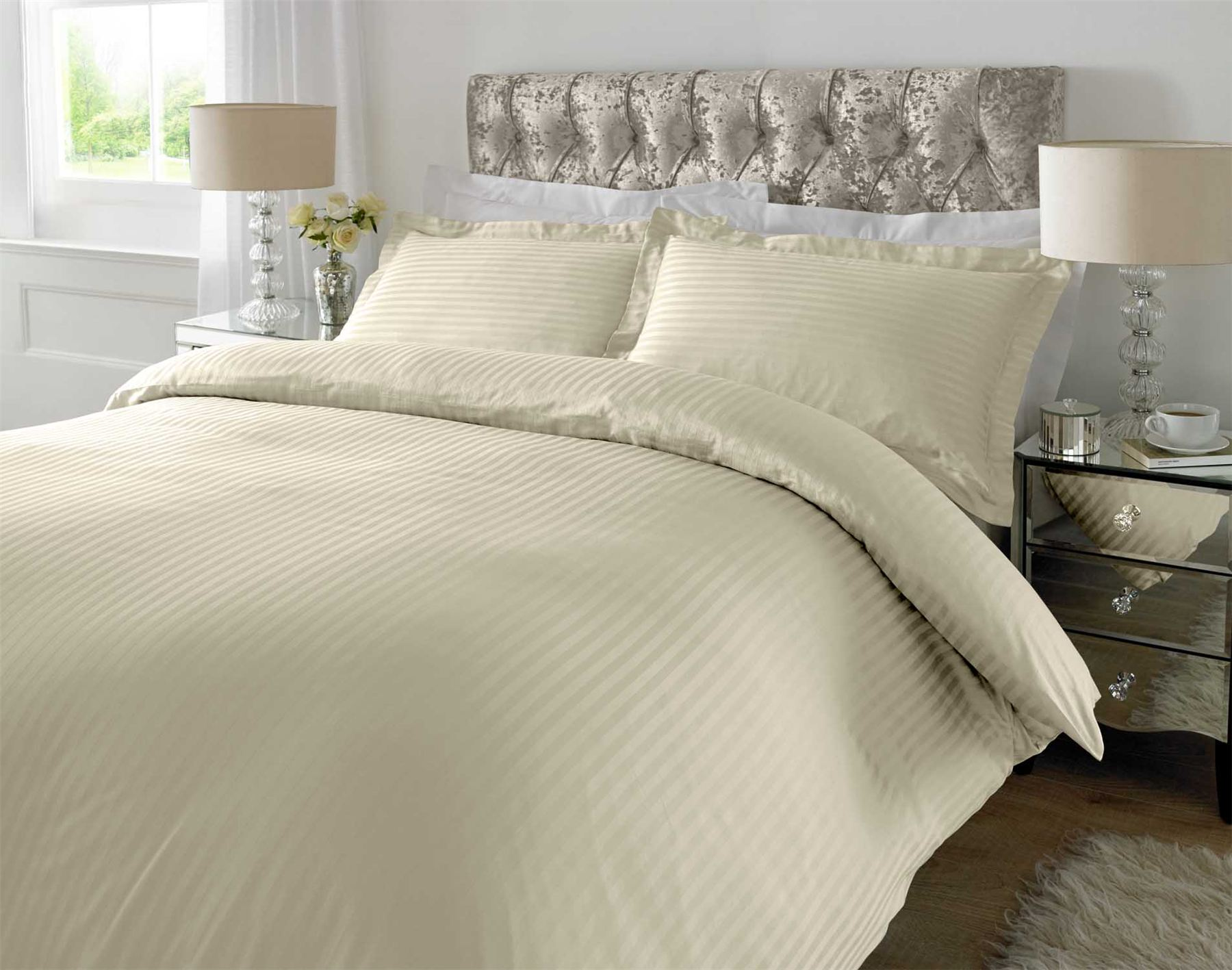 Duvet covers are arguably just as important as pillow cases and sheets when it comes to making your bed look complete. Not only do these bedroom accessories make the beds look beautiful, but they protect the duvet underneath from pet hair, stains, and tears.