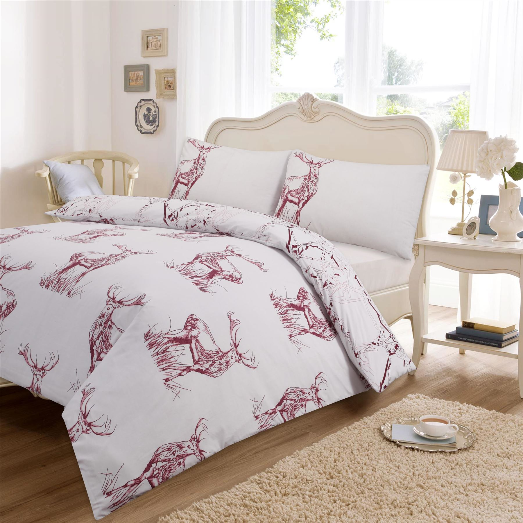 Luxury Printed Duvet Cover With Pillow Case Quilt Cover