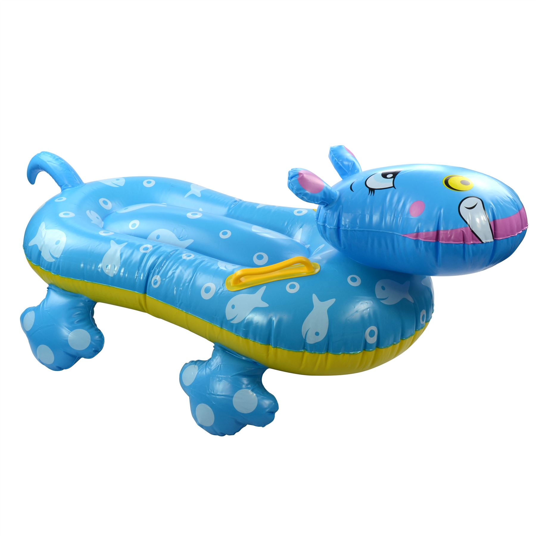 Inflatable Blow Up Hippo Swimming Pool Float Fun Kids