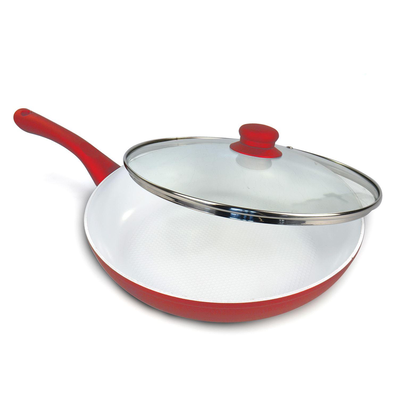 24cm Non Stick Ceramic Coated Aluminium Pan Frying
