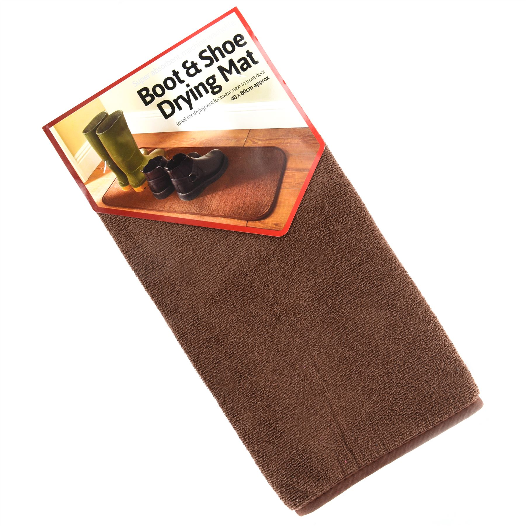 New Washable Non Slip Boot Shoe Drying Door Mat Home