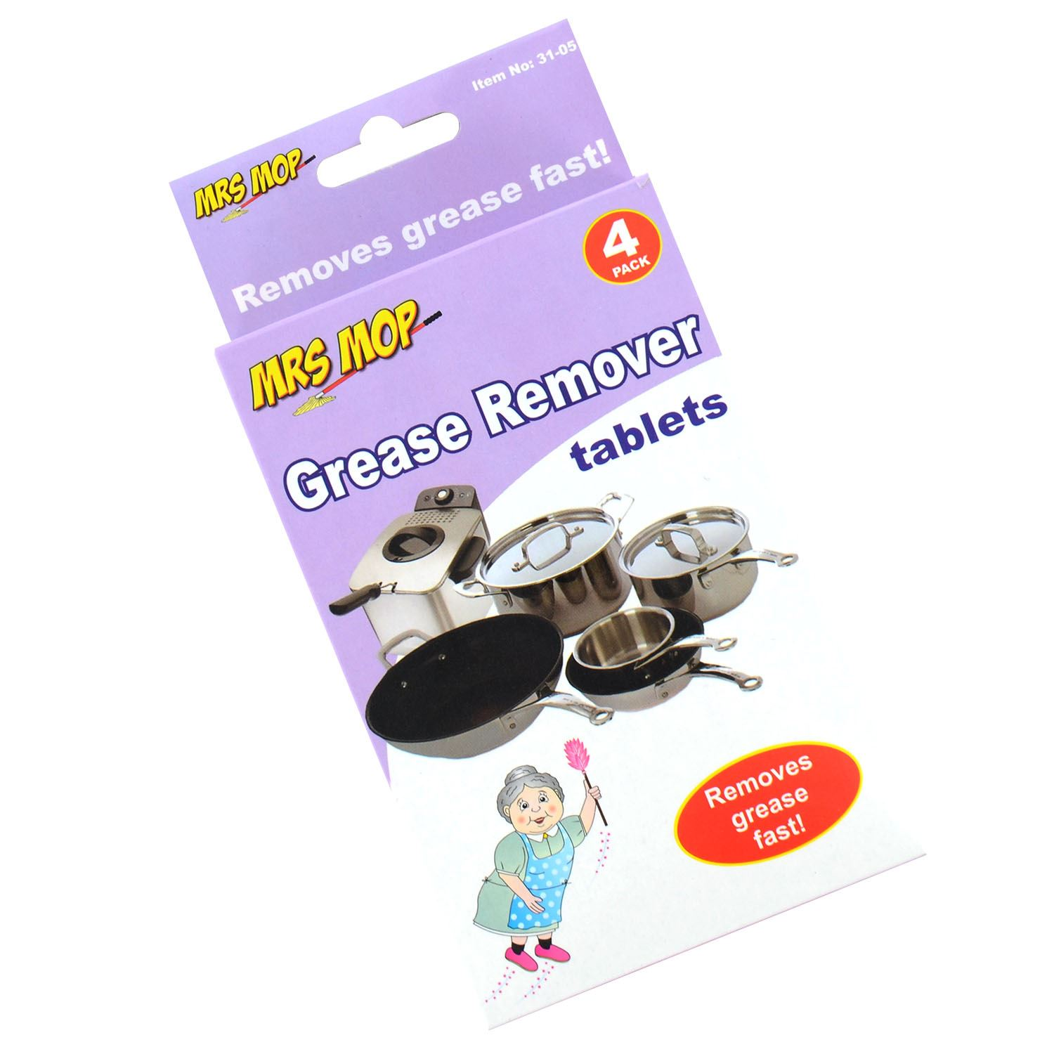 Kitchen Pan Fryer Grease Remover Tablets Degreaser Cleaner Cleaning Ebay