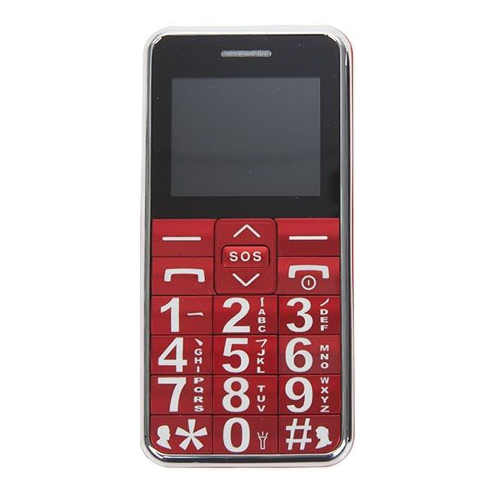 large digit senior citizen mobile phone unlocked with sos big buttons micro sd ebay. Black Bedroom Furniture Sets. Home Design Ideas