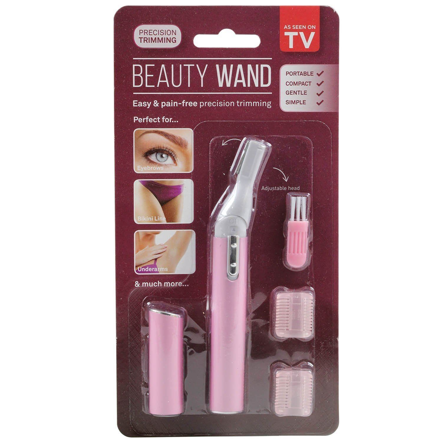 Beauty wand womens personal shaver eyebrow trimmer for Beauty wand