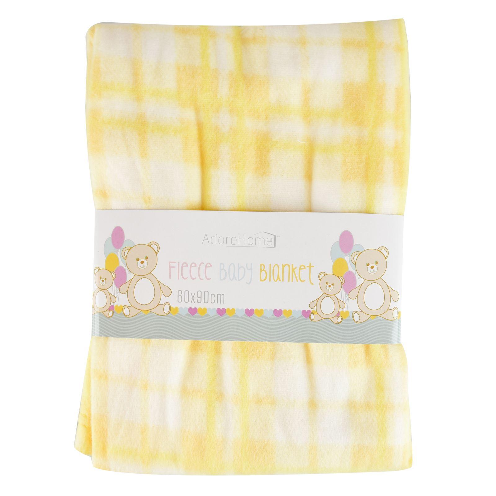 Super soft fleece baby blanket check design new born cot for New check designs