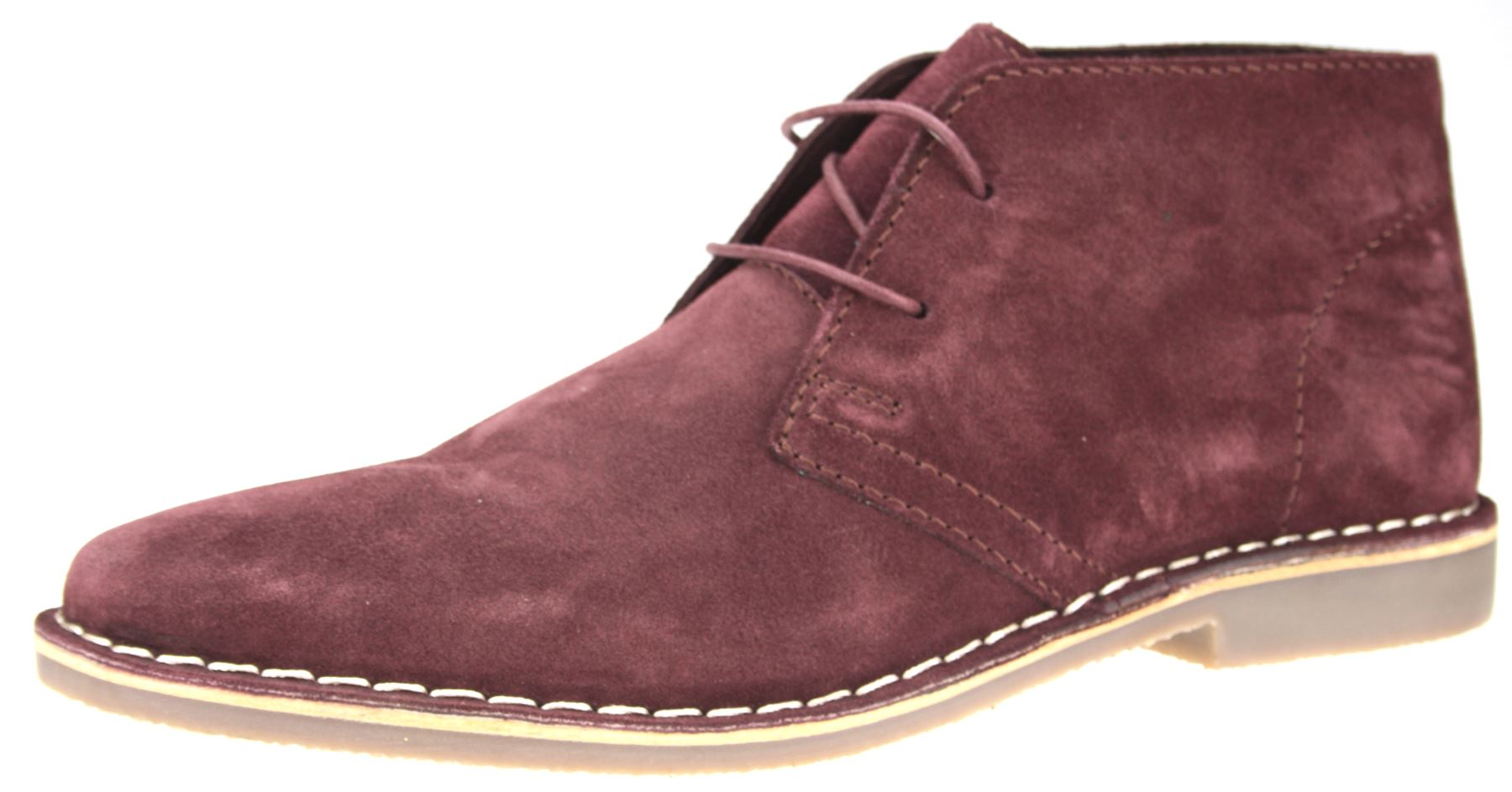 Red Tape Desert Suede Leather Lace Up Mens Chukka Gobi ...