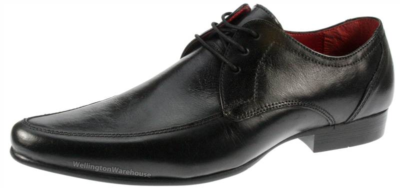 Red-Tape-Real-Leather-Lace-Up-Pointed-toe-formal-casual-mens-shoes