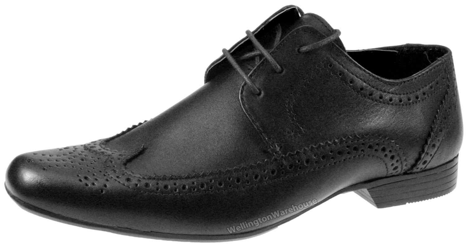 Childrens Brown Brogue Shoes