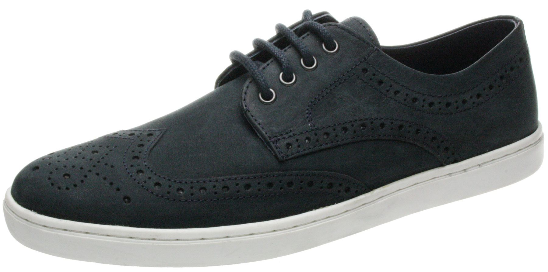 Mens-Red-tape-Girvan-Brown-Navy-lace-up-leather-brogue-trainer-pump-shoes