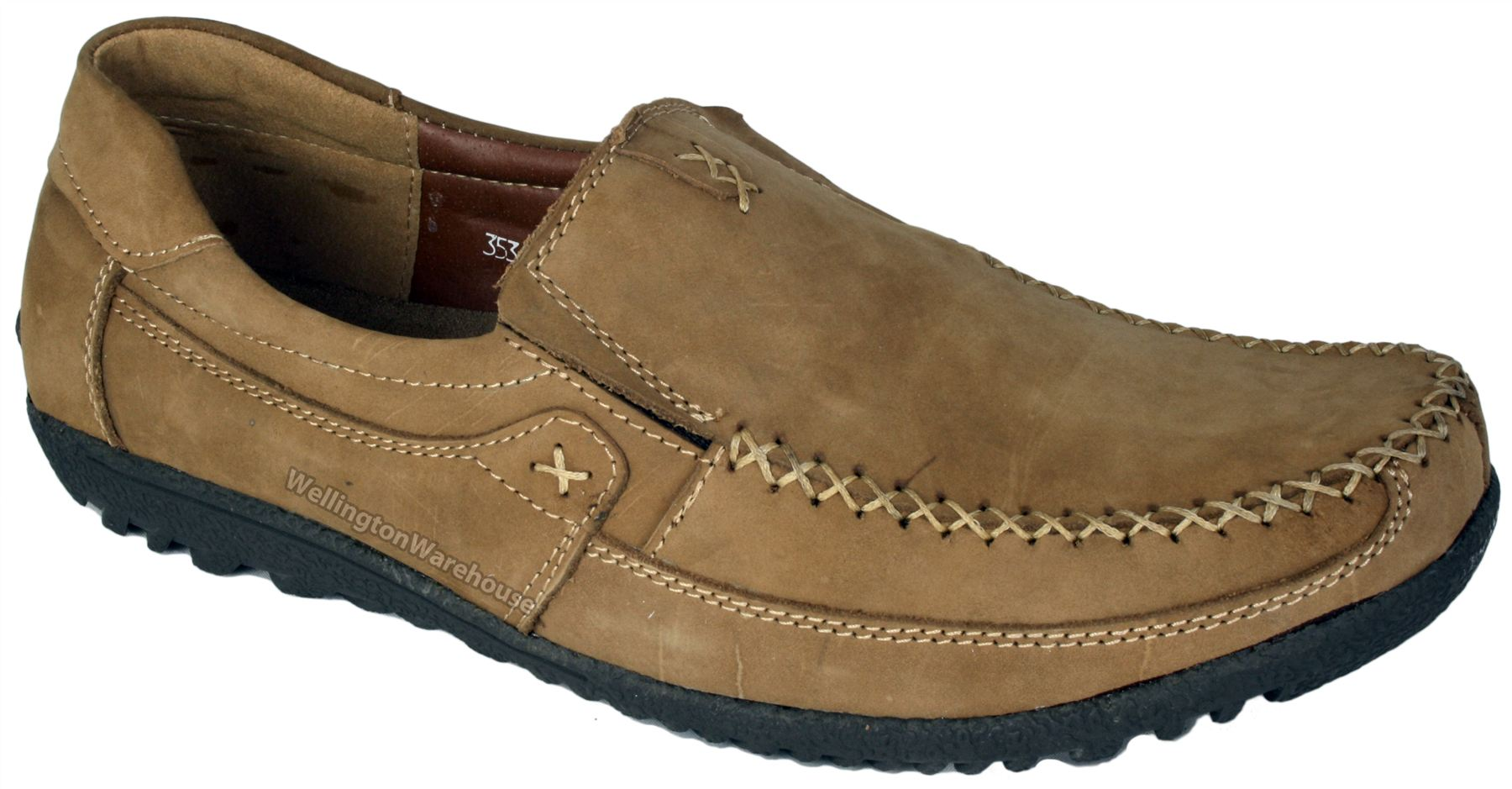 Soft Leather Boat Shoes