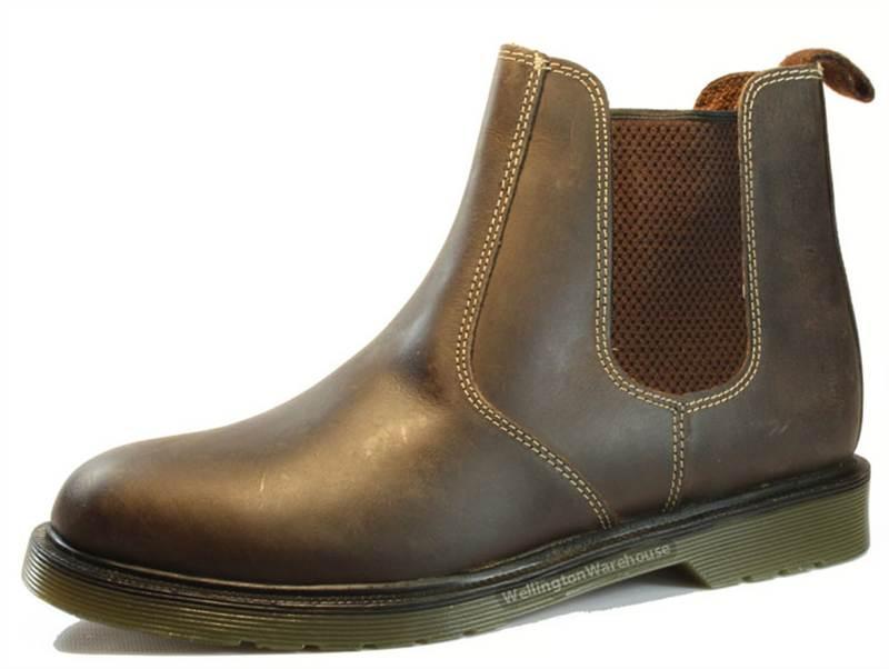 mens leather chelsea dealer boots uk sizes 6 12 ebay