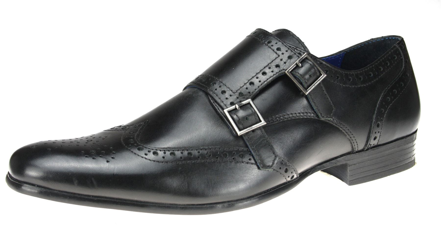 Office Mens Smart Buckle Shoes