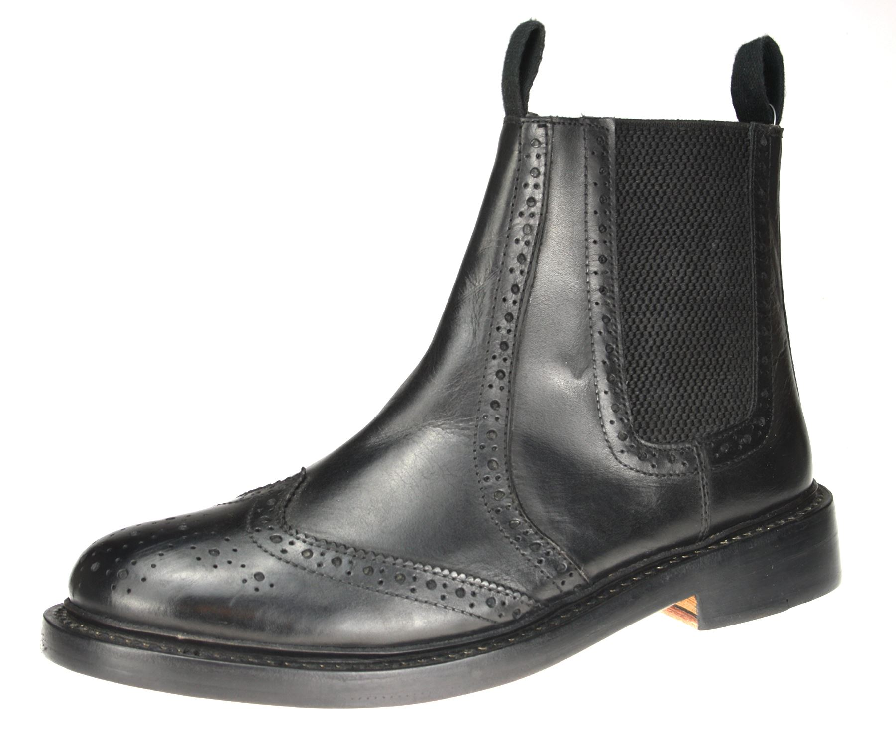 benchgrade 1920 mens or black all leather welted