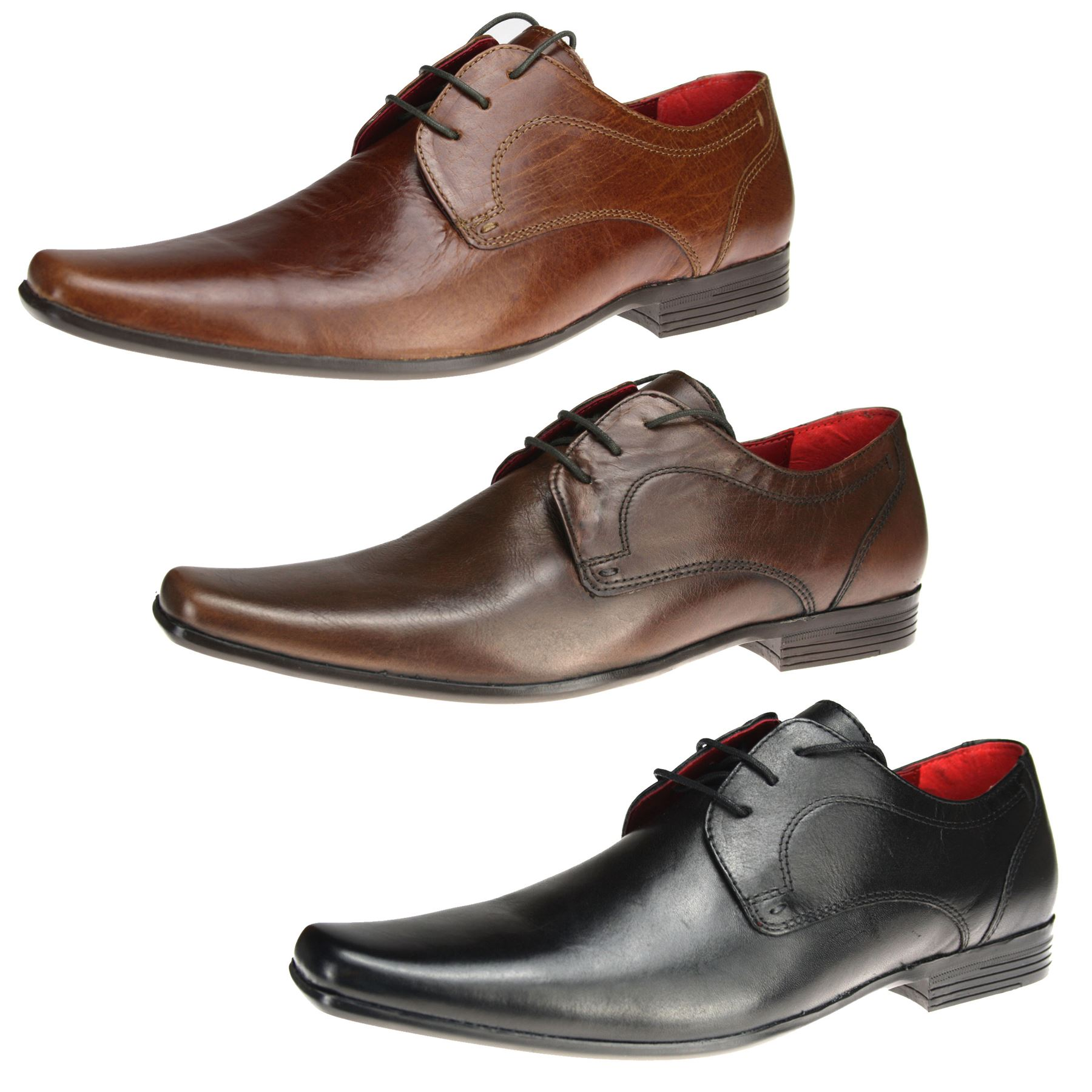 Mens Red tape Kingston Lace up leather formal wedding office ...