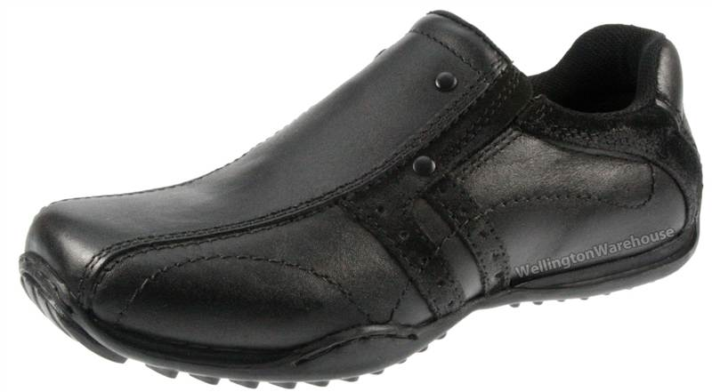 Boys Brown RedTape Walkham Leather Casual Shoes UK 1 2 3 5 6