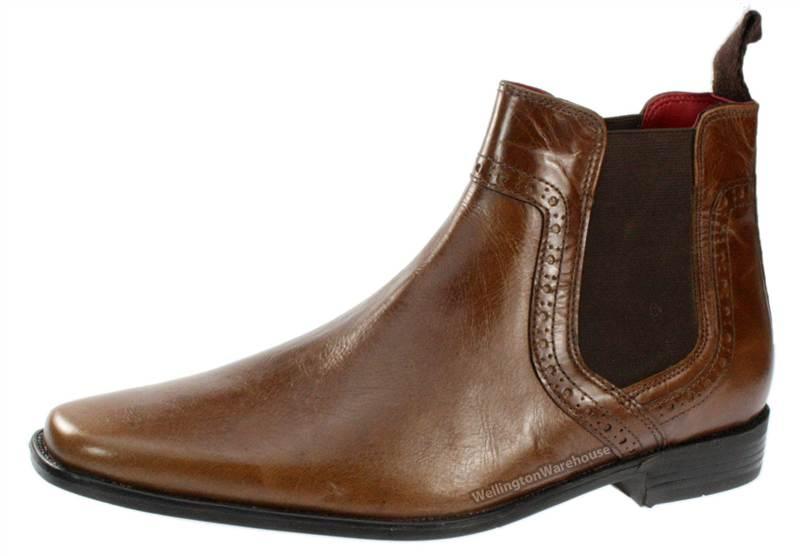 red tape herren schuhe stiefel knoechelhoch chelsea boots. Black Bedroom Furniture Sets. Home Design Ideas
