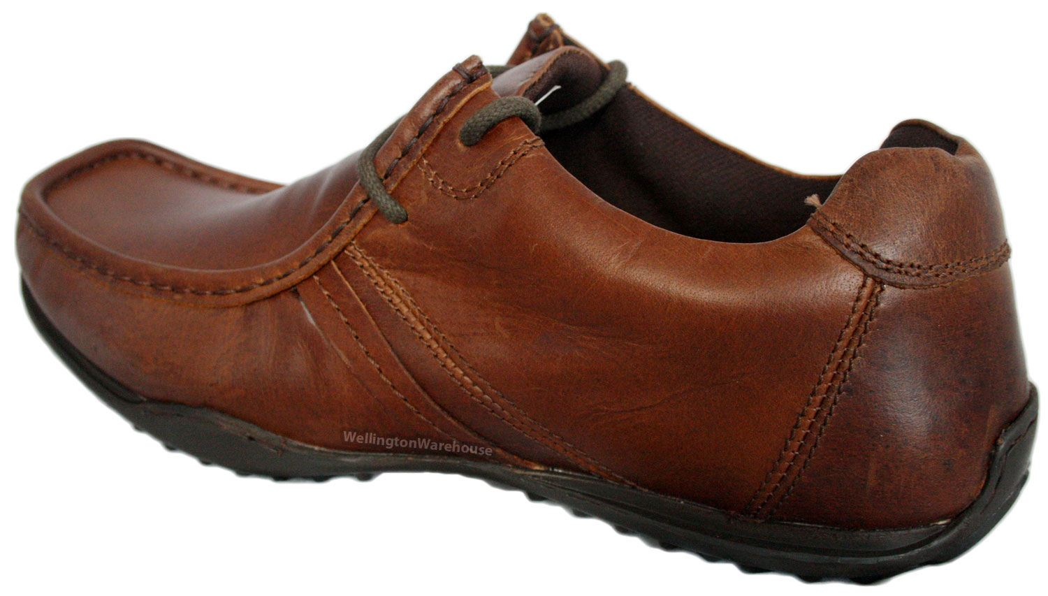 UK Cheap Red Tape Kinder Leather Brown Men Casual Boots  Shoes