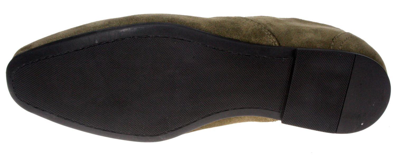 Boys Junior Red Tape Slip On Black Shoes Kids Pointy Toe Formal UK 1 2 3 4 5 6