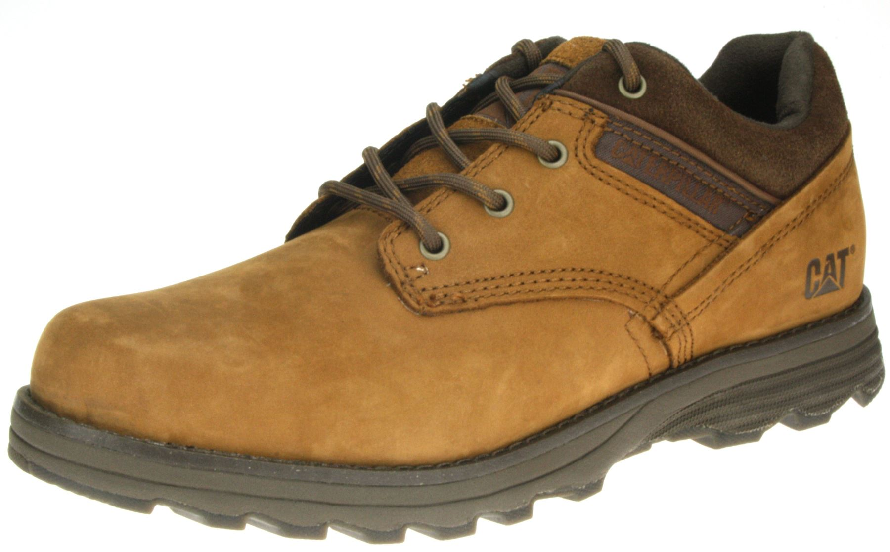 caterpillar cat mens affront leather chukka lace up shoes