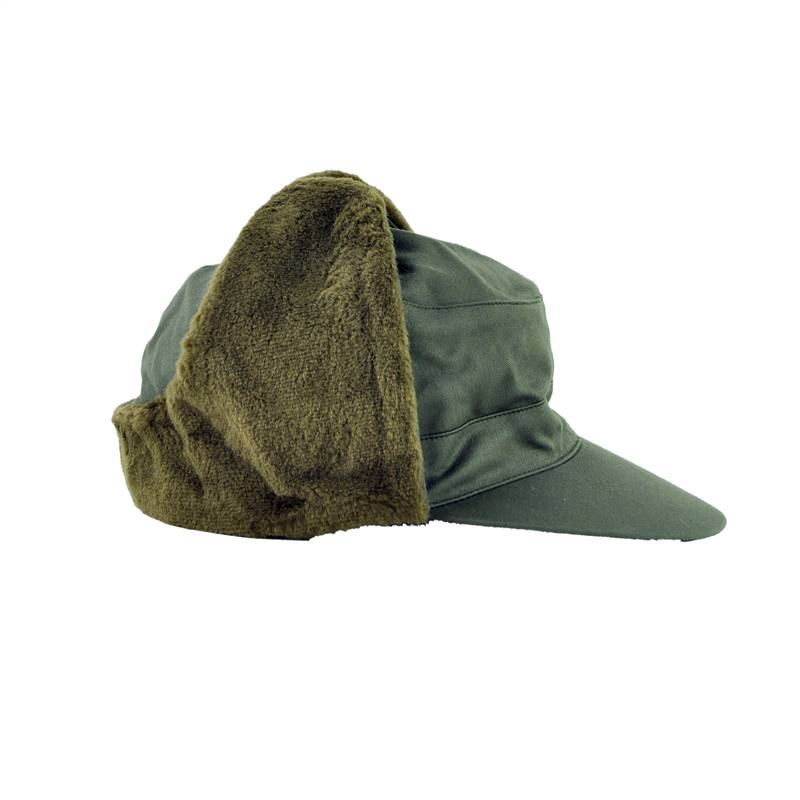 I purchased this cap to have good overage over my ears during winter storms. being outside alot and in whatever weather there is that day makes it so you want to be warm. this hat does that.5/5().