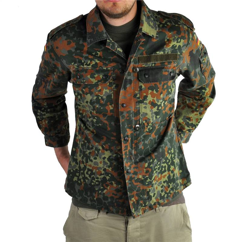 GERMAN-ARMY-FLECKTARN-CAMO-VINTAGE-SHIRT