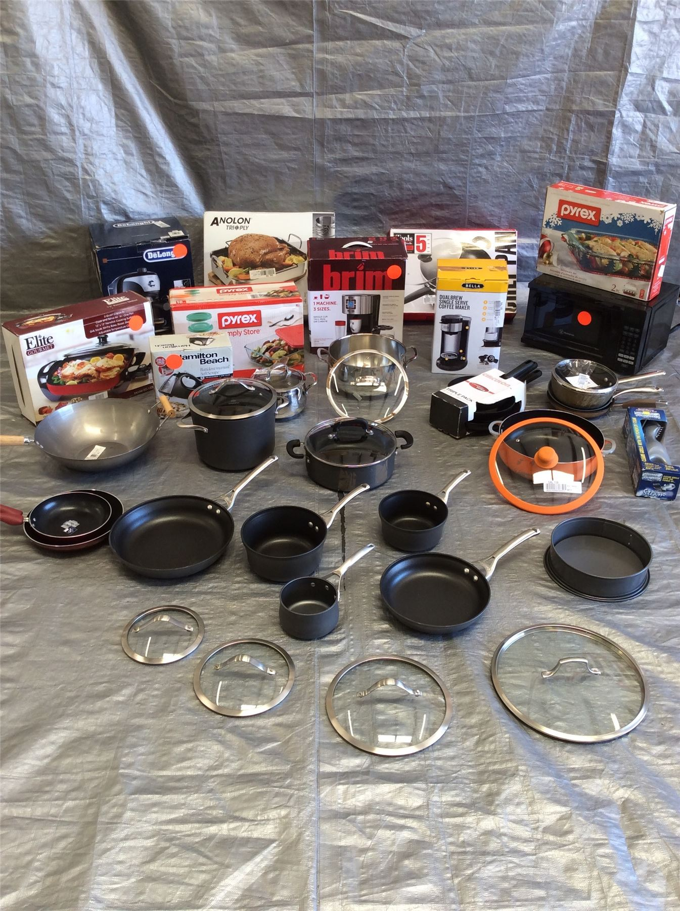 Wholesale Lot Of Small Kitchen Appliances Electrical