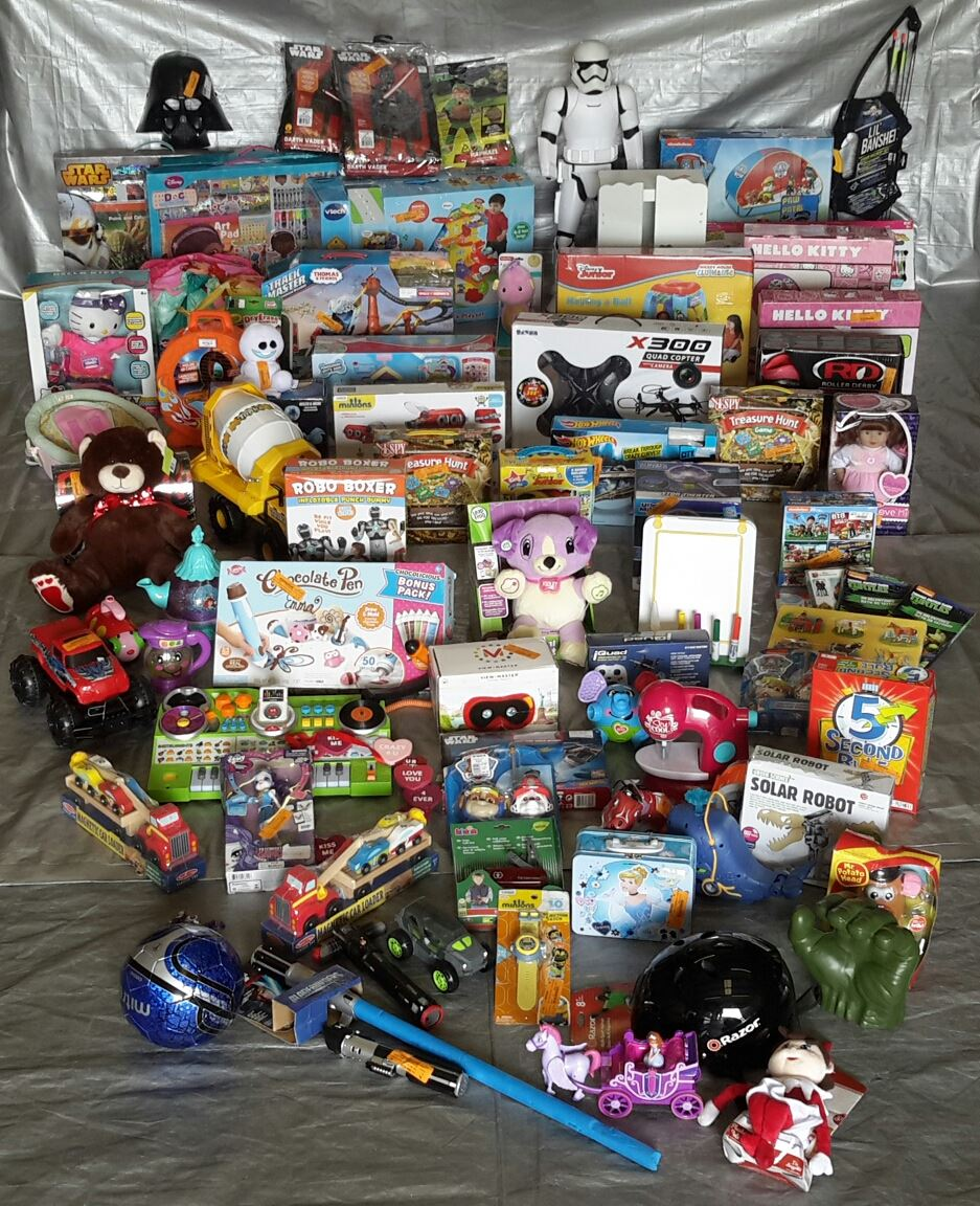 Wholesale Pallet Lot Of Kids Toys & Collectibles Approx 87