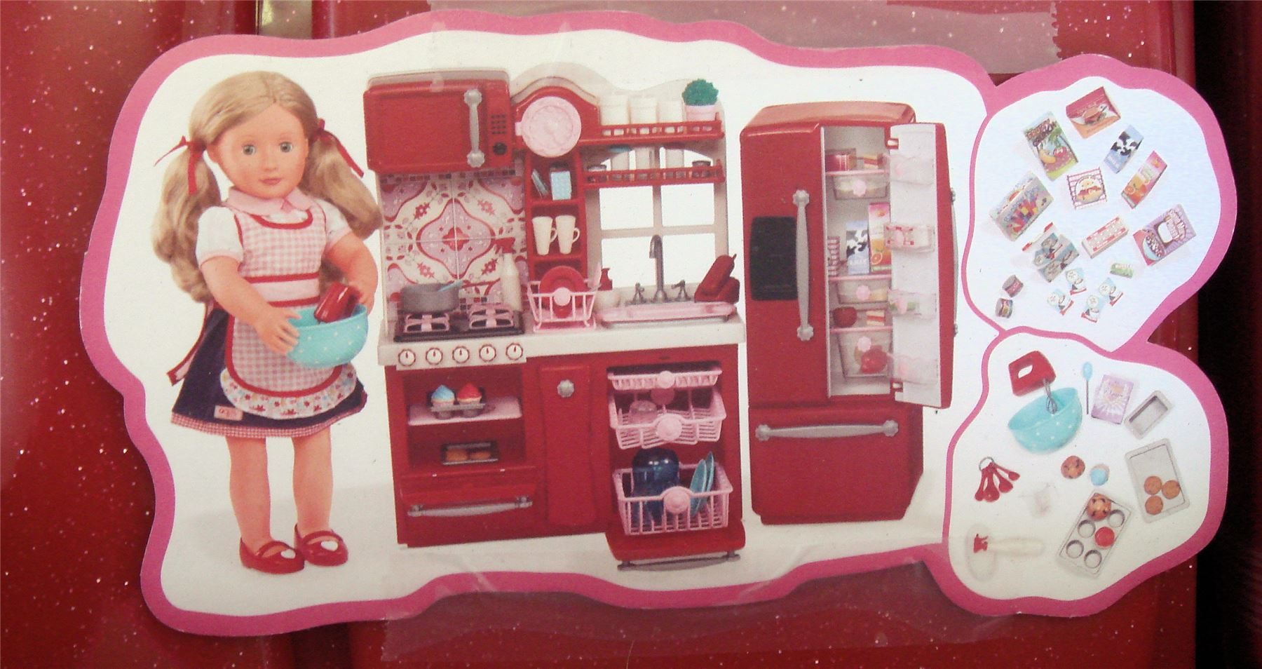 our generation gourmet kitchen set for american