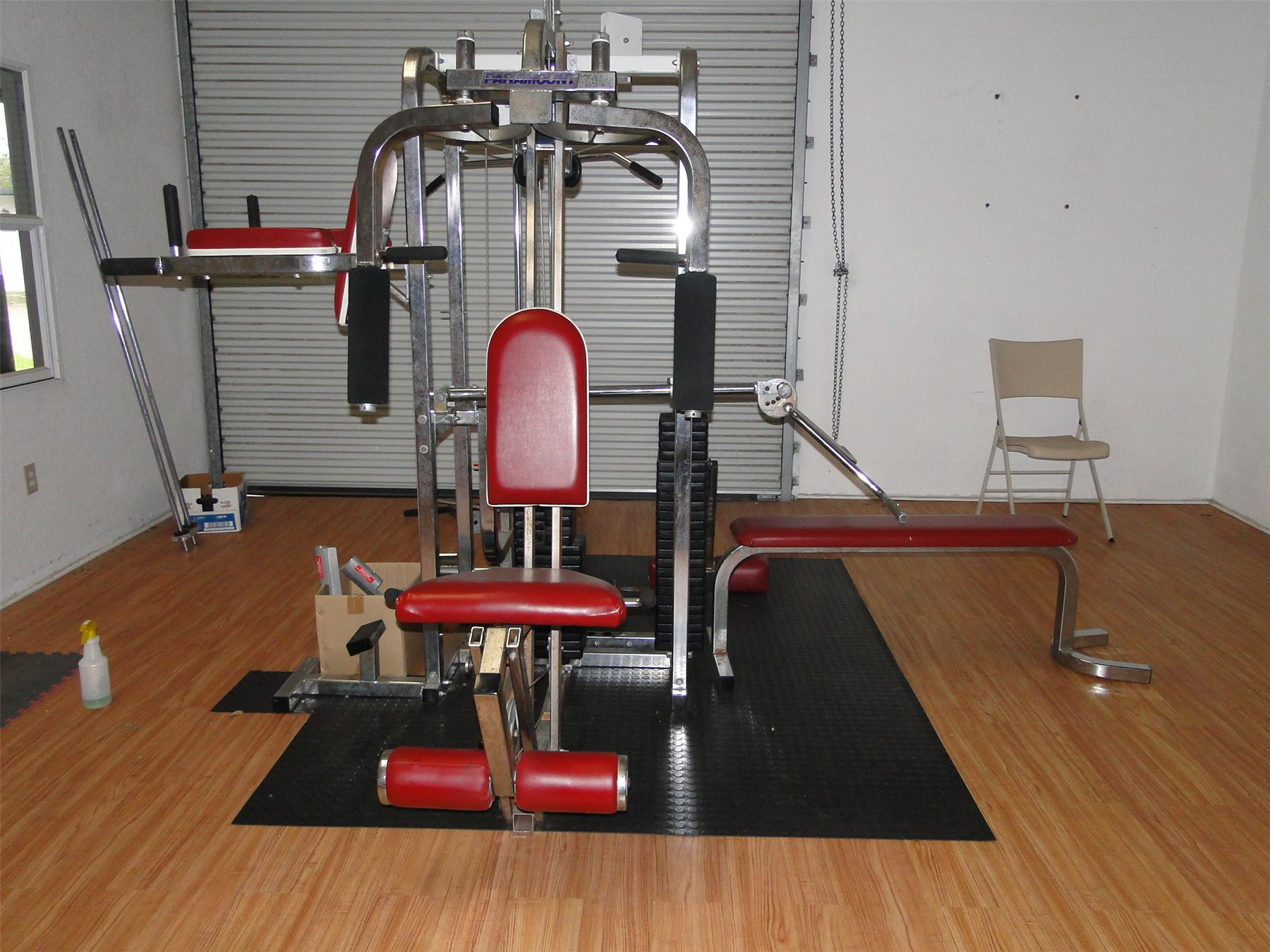 paramount st4 weight machine