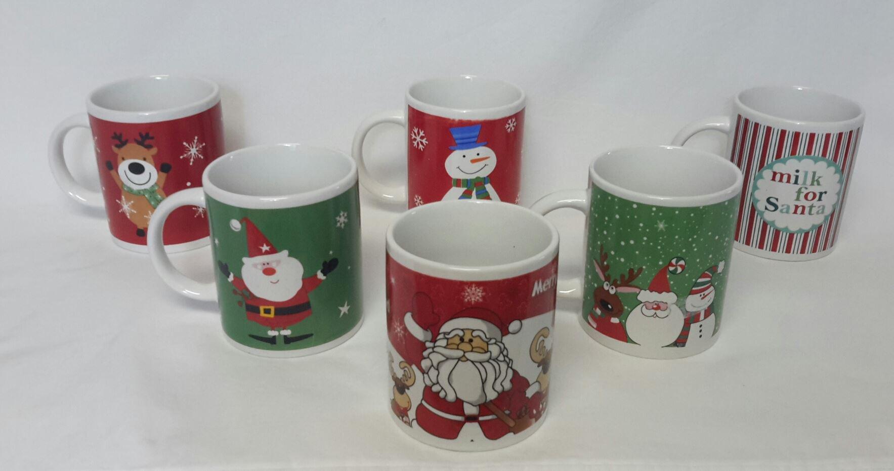 Christmas Mugs Bulk