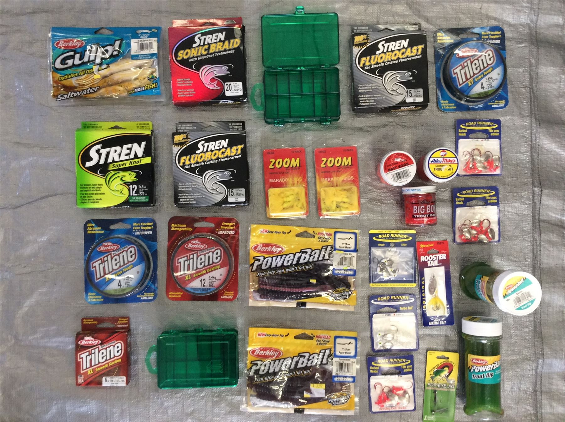 Wholesale lot of assorted fishing items bait hooks for Wholesale fishing equipment