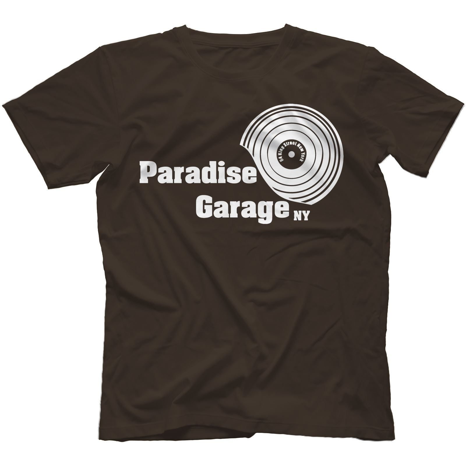 Paradise Garage T-Shirt 100% Cotton Disco House Larry Levan Salsoul Chicago