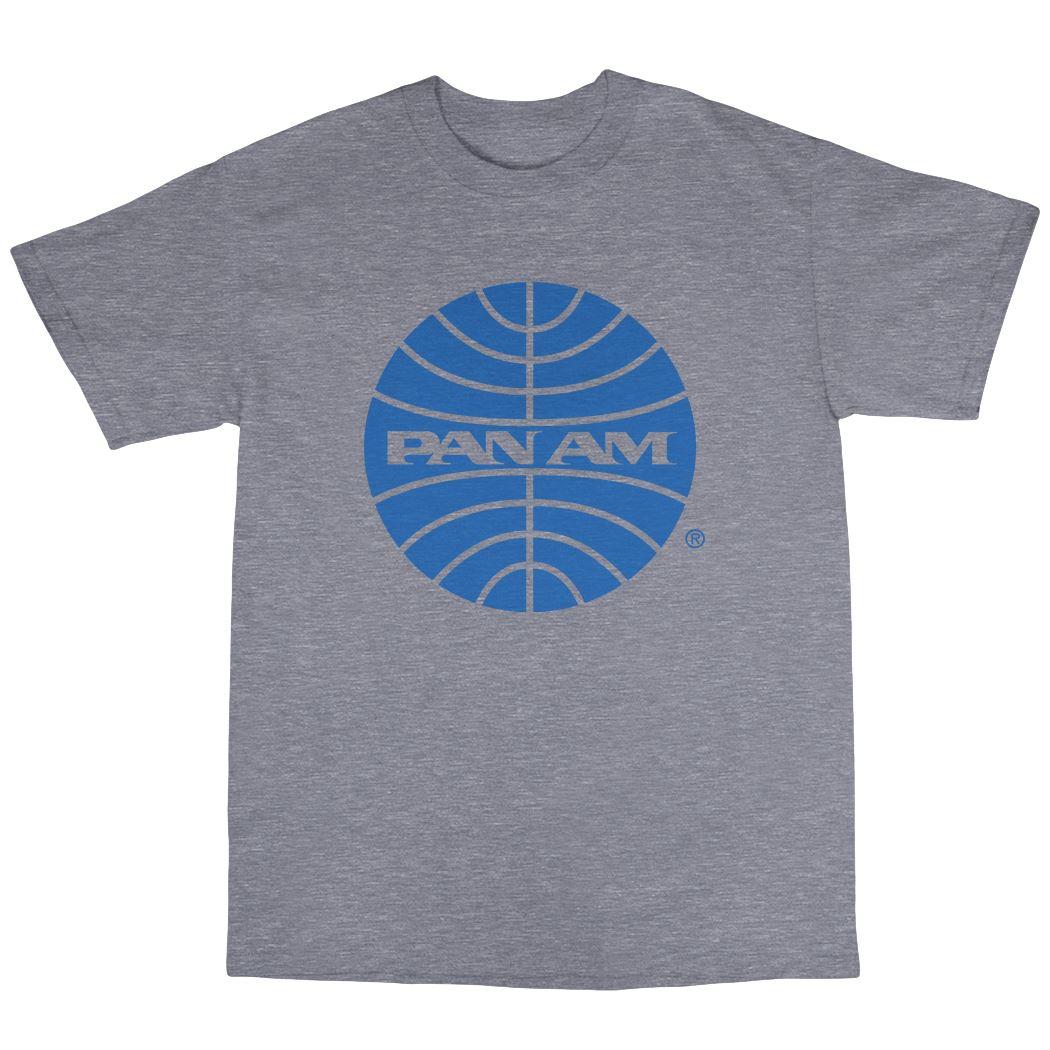 Retro Pan Am Inspired T Shirt 100 Cotton Vintage Classic
