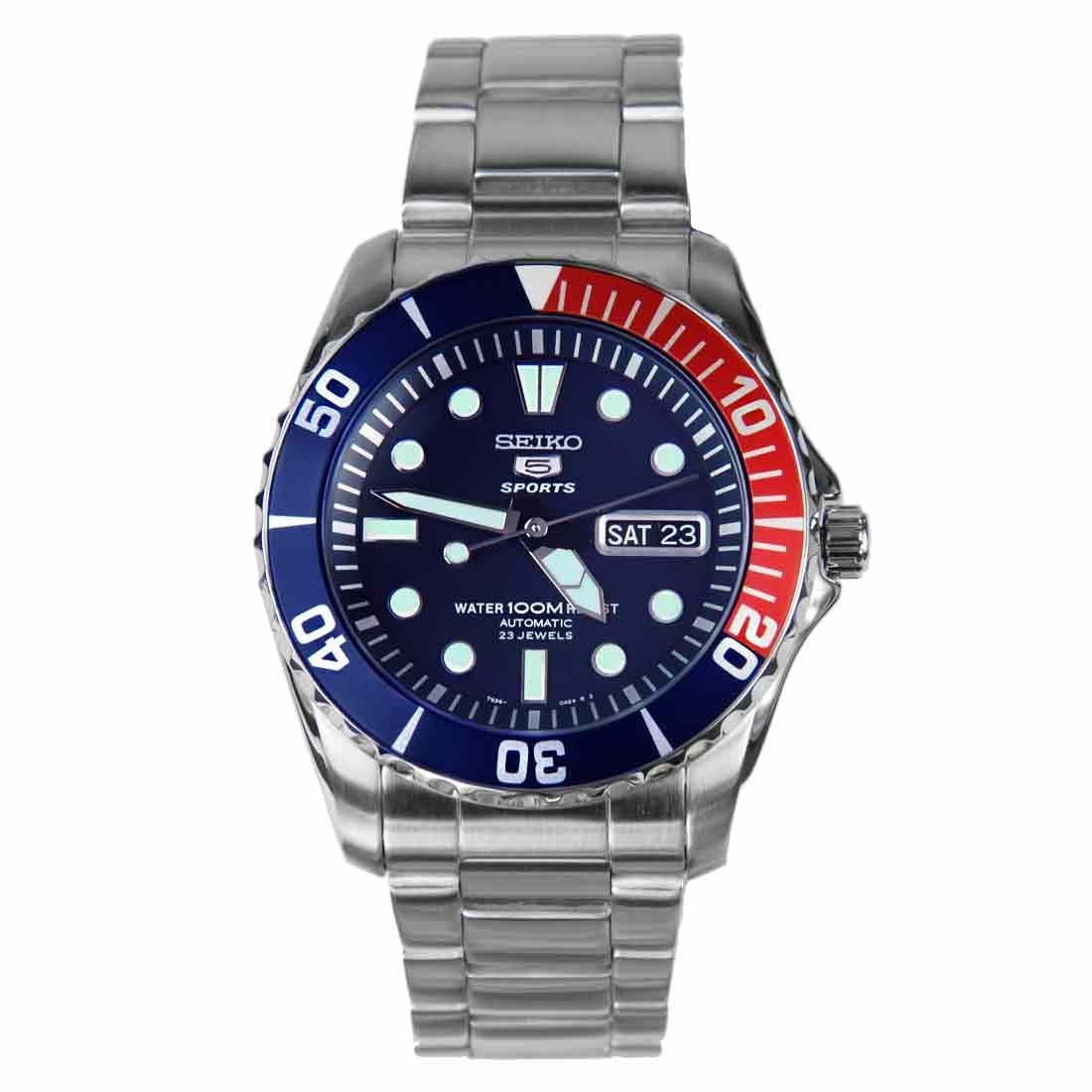 seiko 5 sports automatic mens snzf15j1 snzf15k1